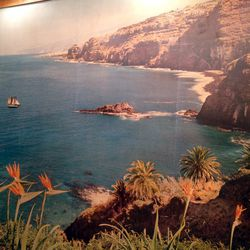 Recognize this vista? One customer swears it's the coast of Africa, but nobody knows for sure.