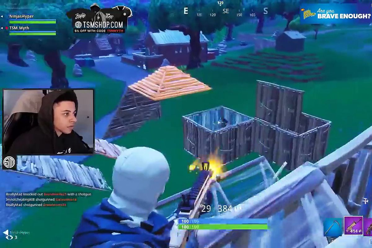 myth playing fortnite myth twitch - tsm team fortnite members