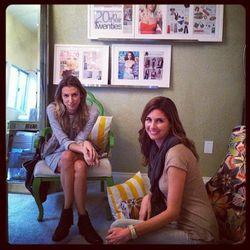 BluePrint founder Zoe Sakoutis, left, with BluePrint president and co-founder Erica Huss