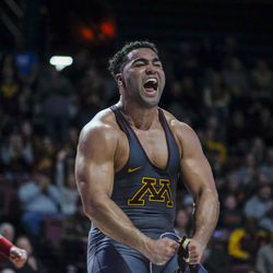 Minnesota's Gable Steveson is the #1 heavyweight in the nation. He is relentless, strong, and very quick. He's also amazing to watch.