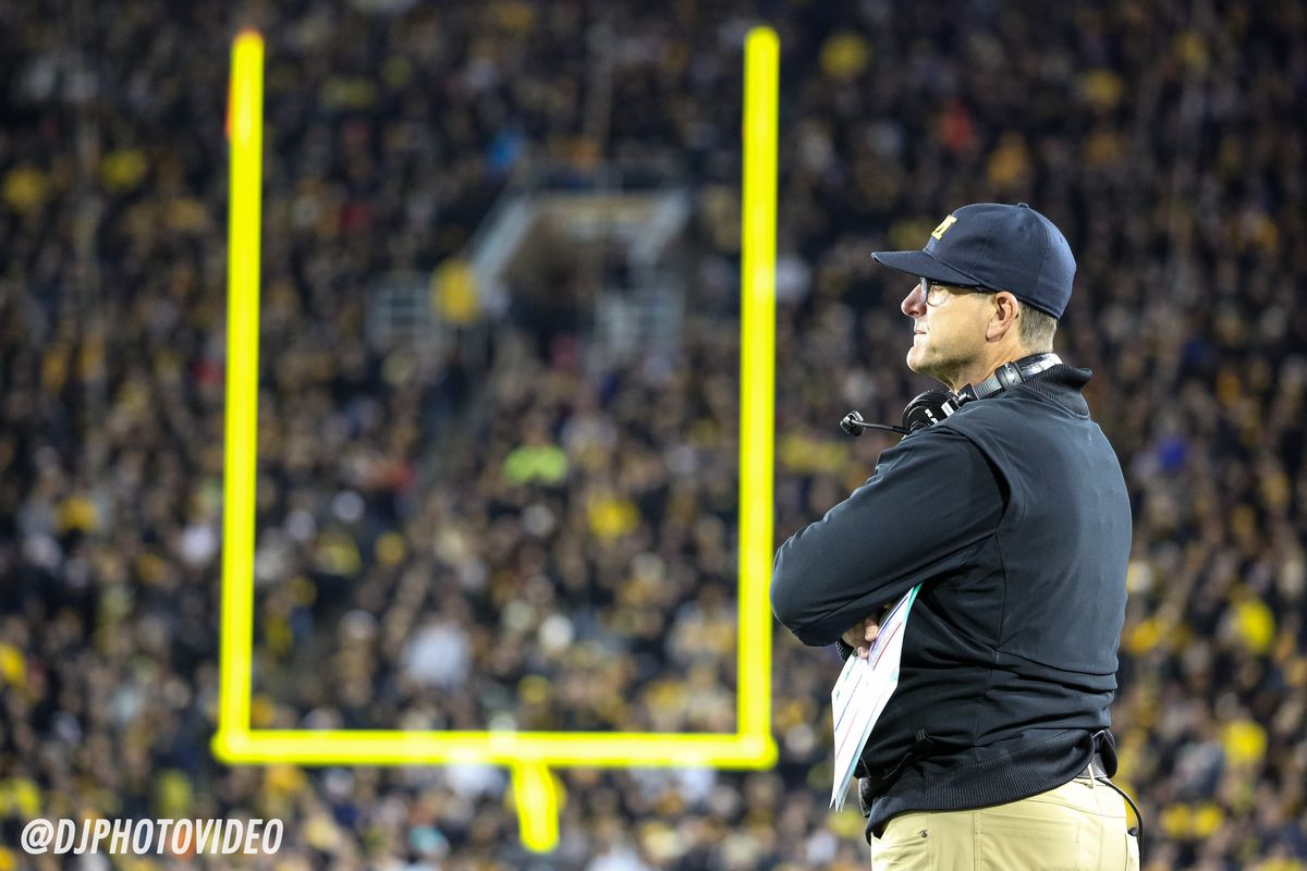 Photo Gallery: Michigan upset at Iowa