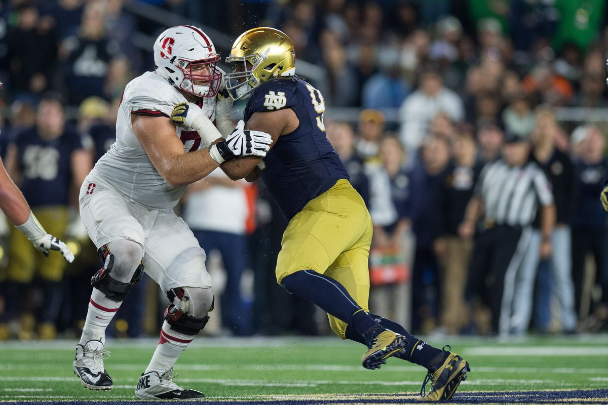 NCAA FOOTBALL: OCT 15 Stanford at Notre Dame