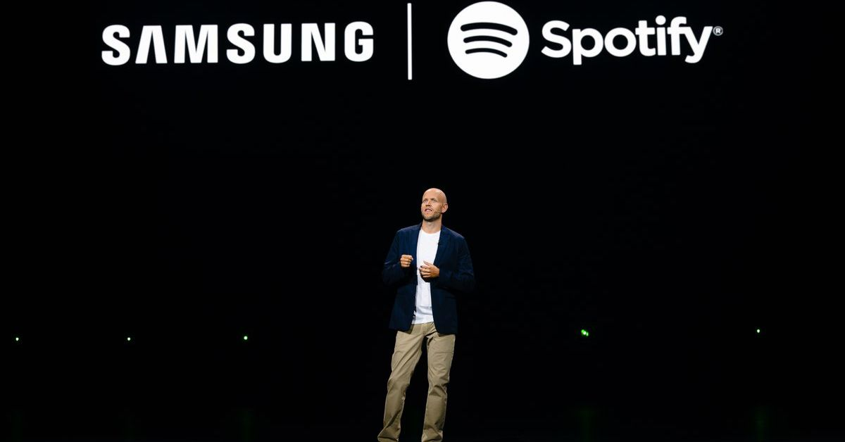 Samsung is Partnering with Spotify Across its Devices