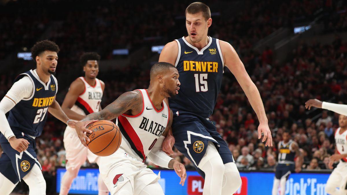 NBA: Denver Nuggets at Portland Trail Blazers