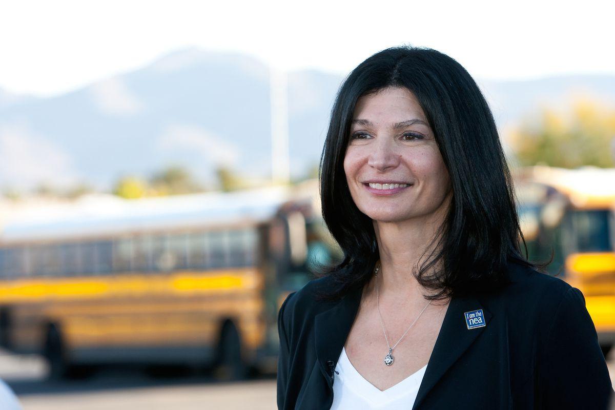 Lily Eskelsen Garcia president of the National Education Association.