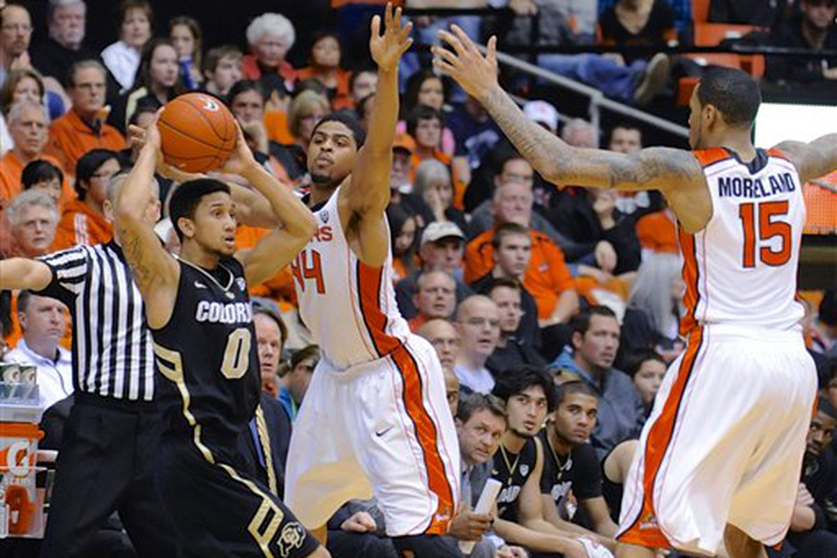 Oregon State Will Be Without The Long Arms Of Devon Collier And Eric Moreland To Start The Season
