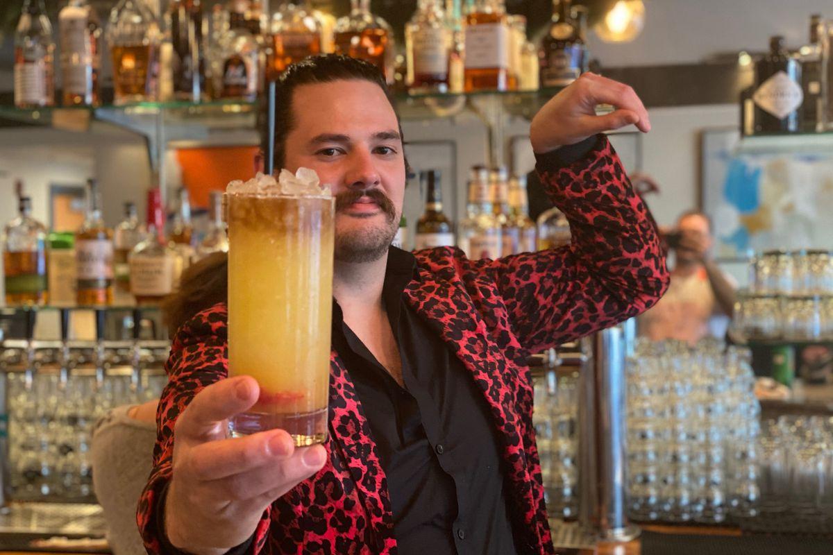 Zack Thomas, beverage director of Lagoon
