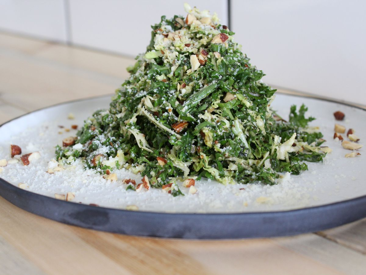 Kale salad at Jame Enoteca in El Segundo.