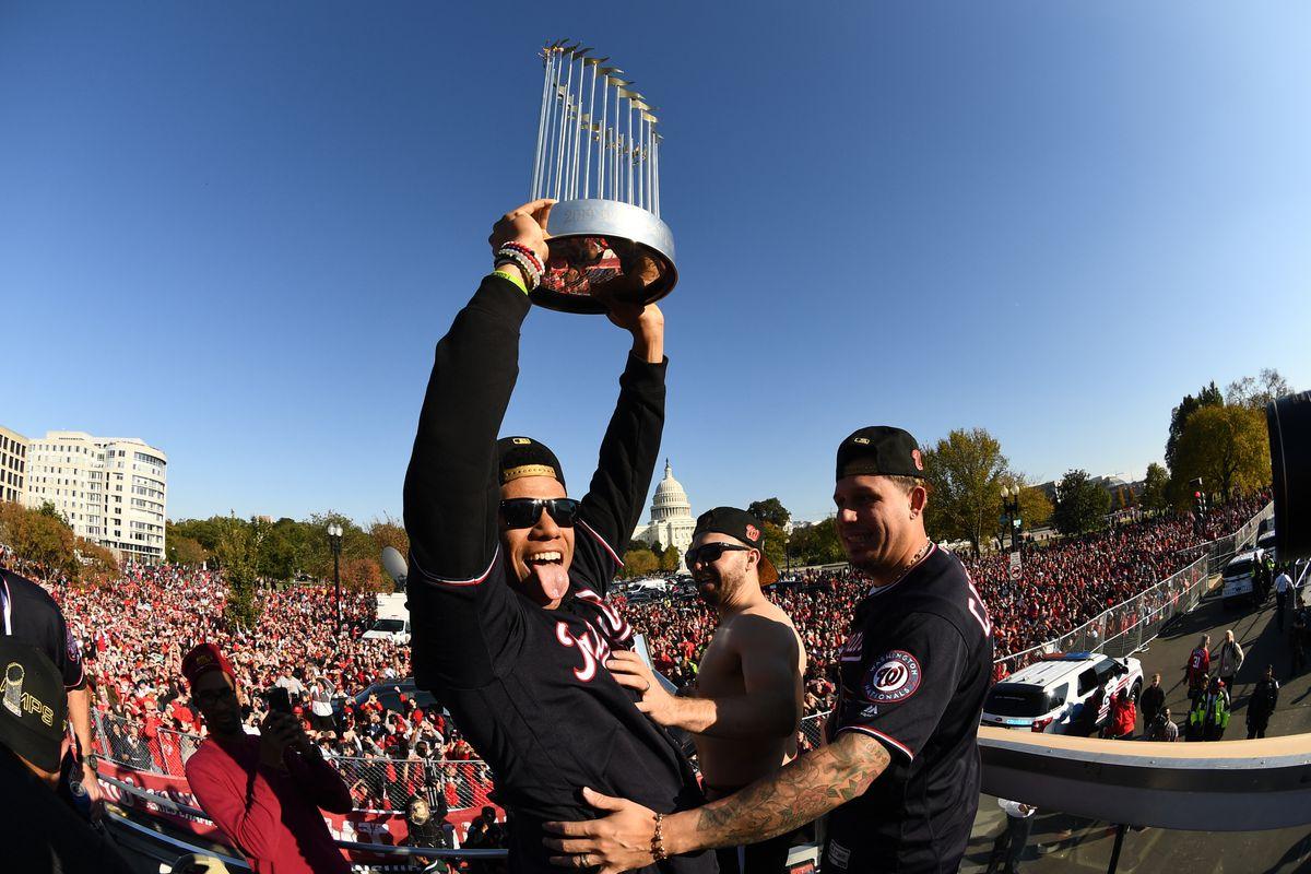 MLB 2019 World Series Champion Washington Nationals Parade