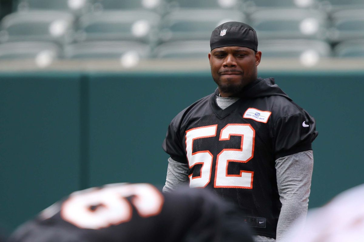new style 782eb 69362 Preston Brown praised by Marvin Lewis, but will his praise ...