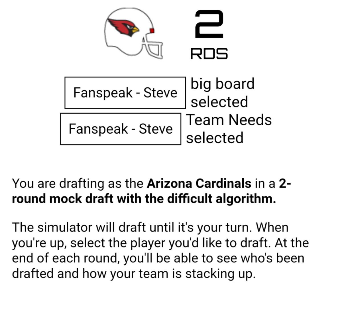 Arizona Cardinals 2 Round 2019 NFL Mock Draft - Revenge of the Birds