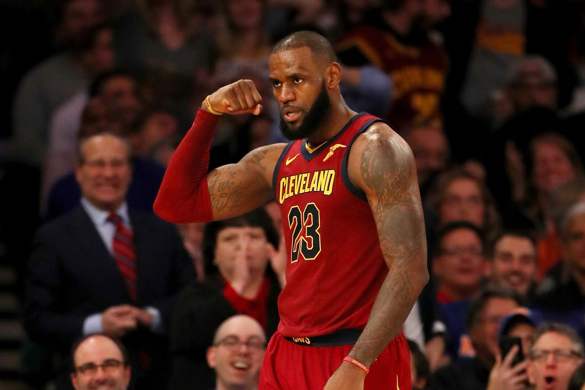 32e654a7009d The definitive timeline of LeBron James' glorious 24 hours in New York City