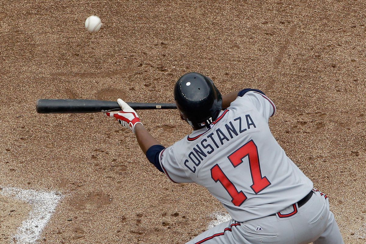 If the Braves think they need a lot of this, then Jose Constanza could very well make the team.