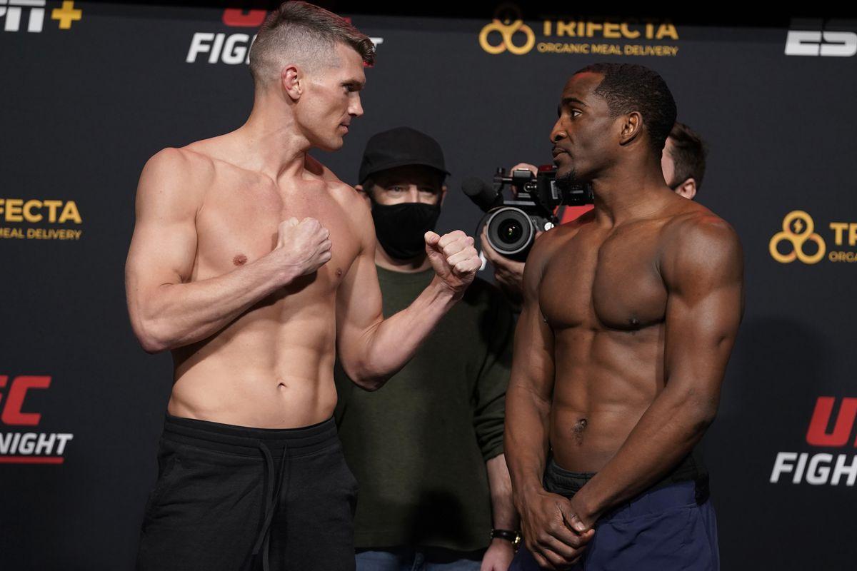 Ufc Vegas 17 Results Thompson Vs Neal Mma Fighting