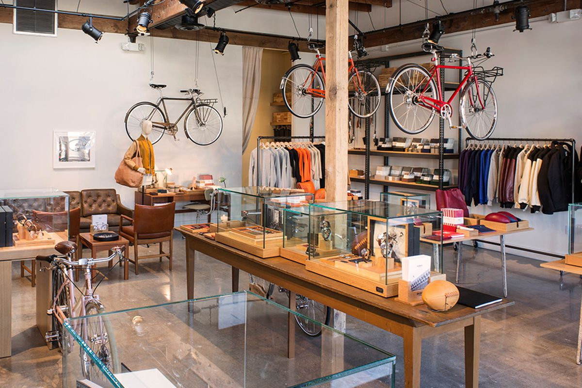 """The brand's first LA shop in Silver Lake, which <a href=""""http://la.racked.com/2014/11/24/7567499/danielle-tk-49"""" target=""""new"""">opened</a> in 2014."""