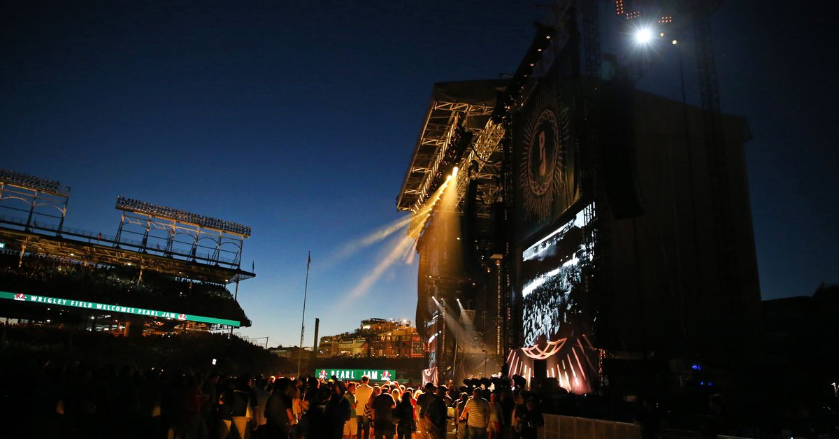 Pearl Jam is returning to Wrigley Field this summer