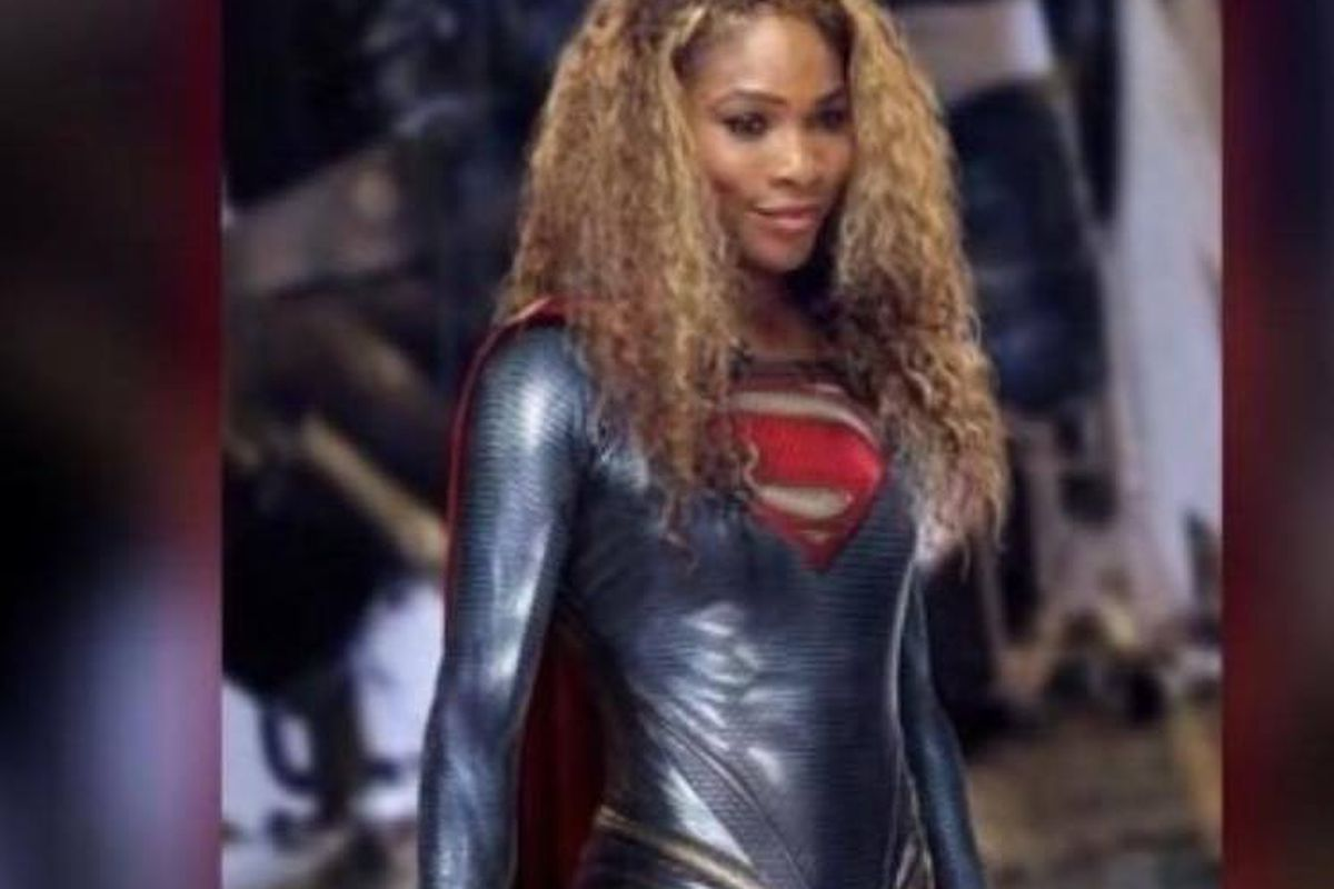 'Super Serena' Williams
