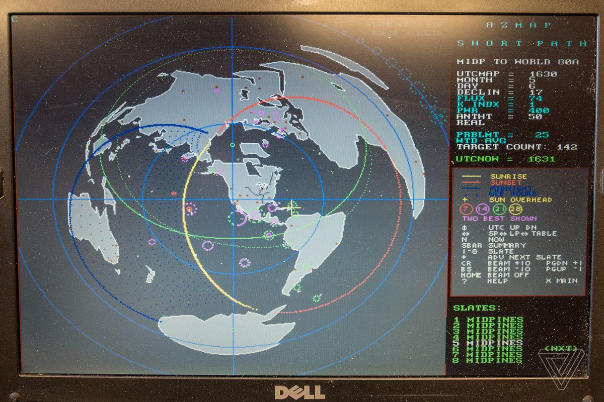 Програма прогнозування радіохвиль Алсуп. Фотографія Сари Jeong / The Verge