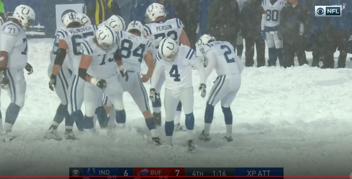 A Blizzard Made The Unwatchable Colts Bills Matchup Watchable The Ringer