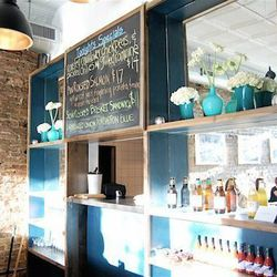 """I fell in love with <a href=""""http://www.bitecafechicago.com"""">Bite Cafe</a> [1039 North Western Avenue] when the fabulous [food writer] <a href=""""http://www.mattsland.net/"""">Matt Kirouac</a> introduced it to me two years ago. It's super cute and cozy, the fo"""