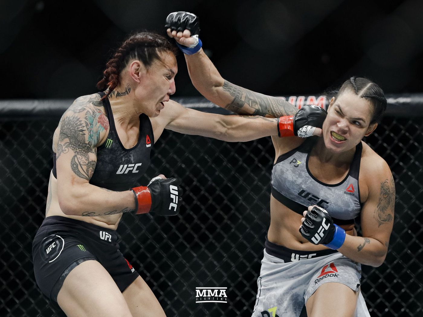 Image result for amanda nunes vs cyborg