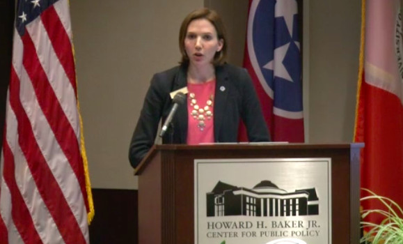 Tess Stovall, director of charter schools for Tennessee State Board of Education.