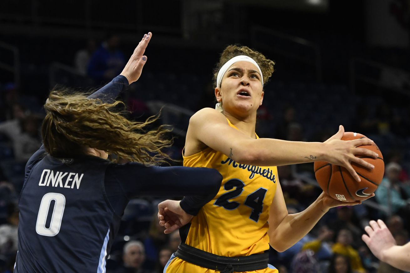 NCAA Womens Basketball: Big East Conference Tournament-Villanova vs Marquette
