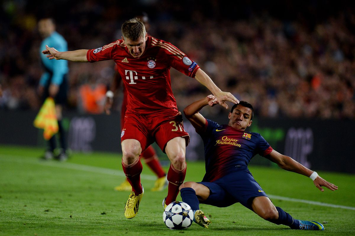 9 0 On The Richter Bayern Munchen Shake Europe With 7 0 Defeat Of Barcelona Tactical Recap Bavarian Football Works