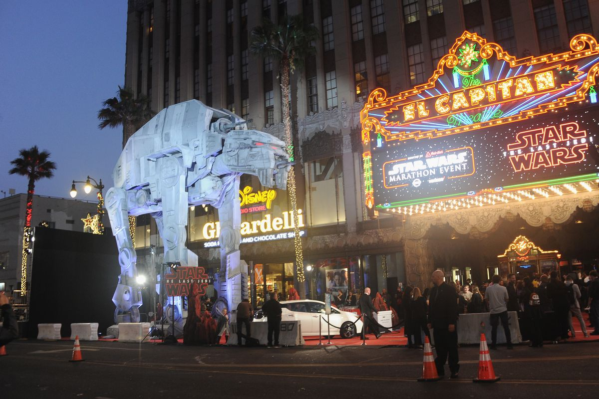 Opening Night Celebration Of Walt Disney Pictures And Lucasfilm's 'Star Wars: The Last Jedi' At TCL Chinese Theatre
