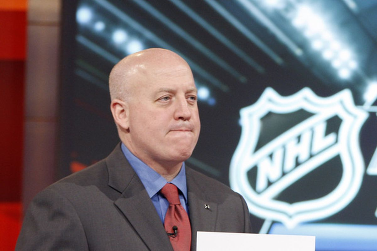 Bill Daly (pictured) and NHLPA special counsel Steve Fehr met late into the night Saturday at an undisclosed location.