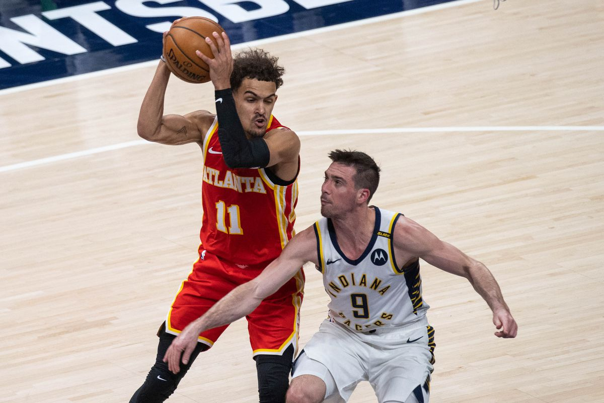 NBA: Atlanta Hawks at Indiana Pacers