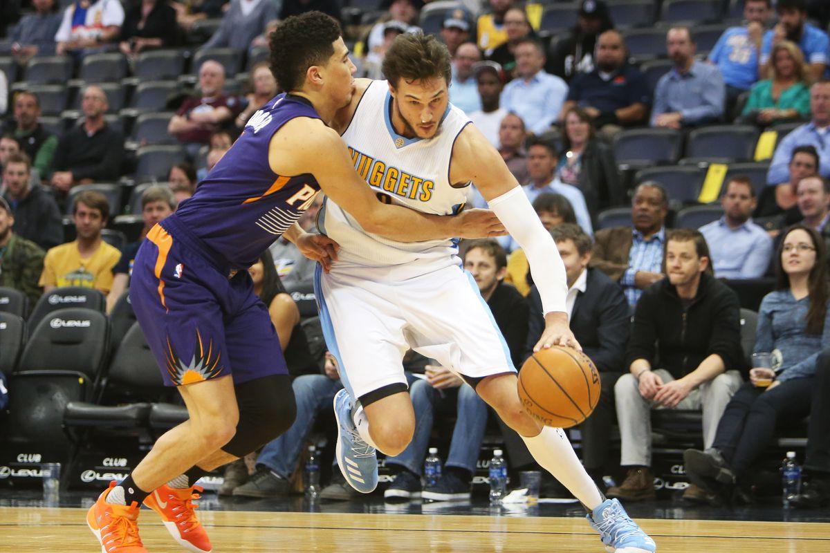 NBA: Phoenix Suns at Denver Nuggets