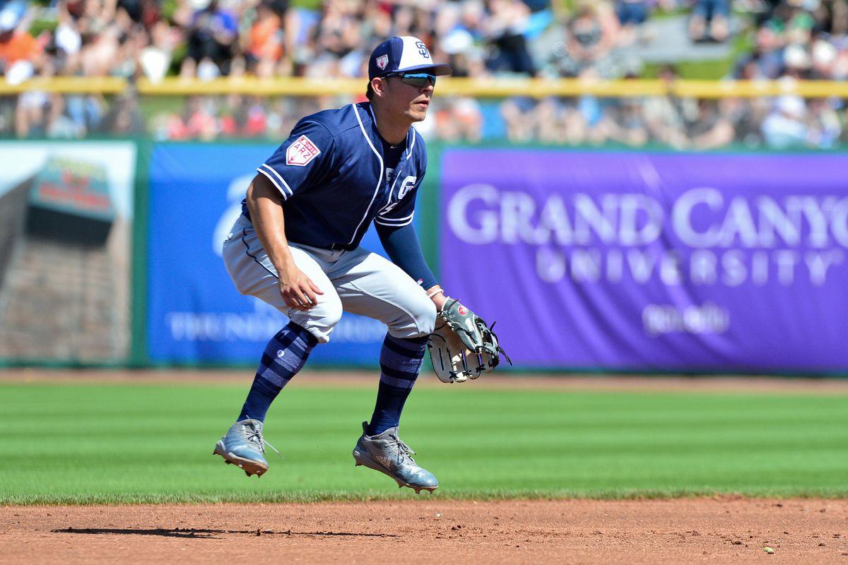 MLB: Spring Training-San Diego Padres at San Francisco Giants