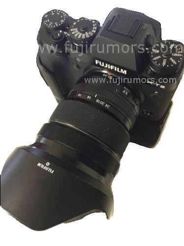 Fujifilm X-T2 leak