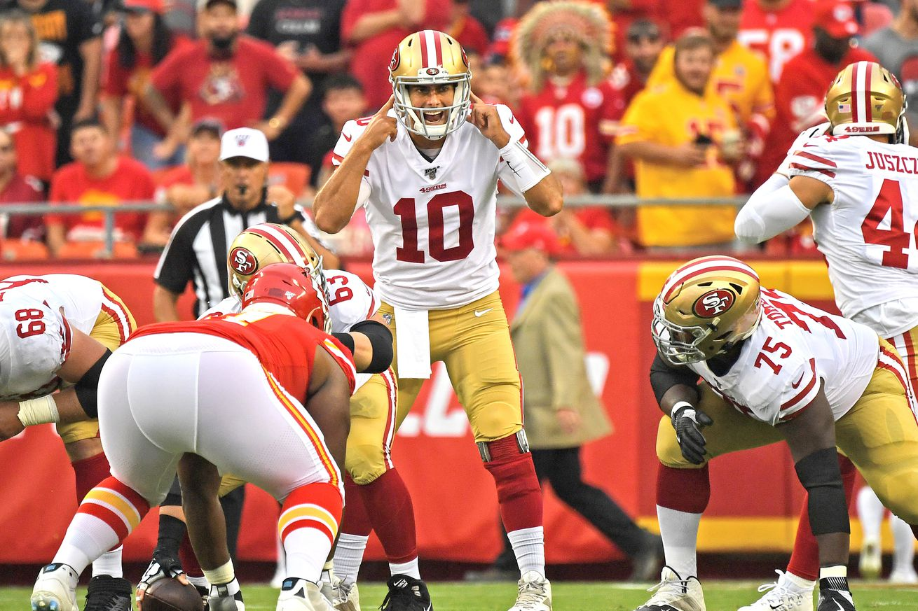 Film room: The good, the bad, and the ugly of Jimmy Garoppolo part 1, the good