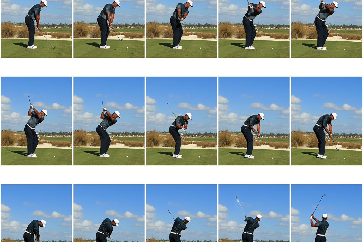 Tiger Woods Swing Sequence Pictures To Pin On Pinterest