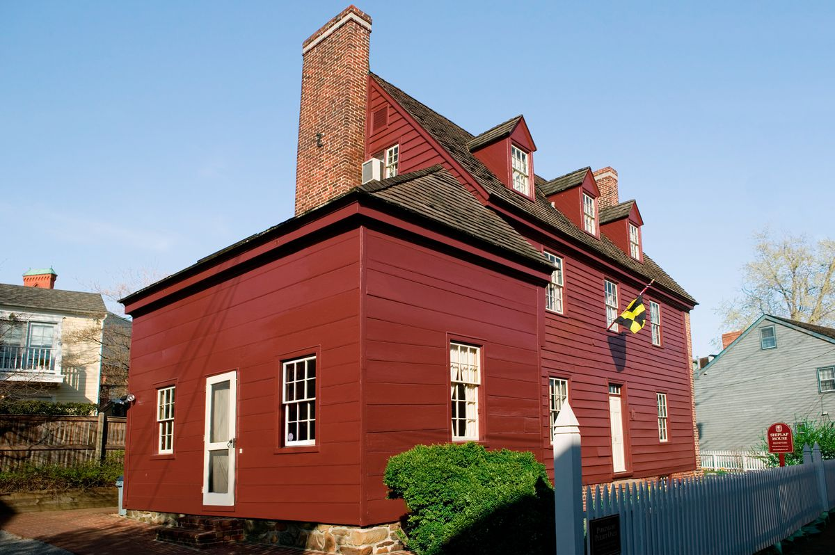 Shiplap House In Annapolis, Maryland