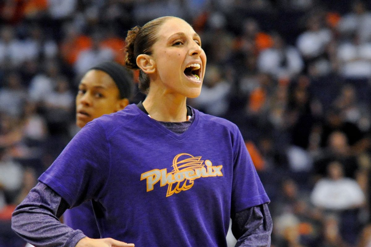 Diana Taurasi is the best player for the Mercury, hands down and today's game is another example why.
