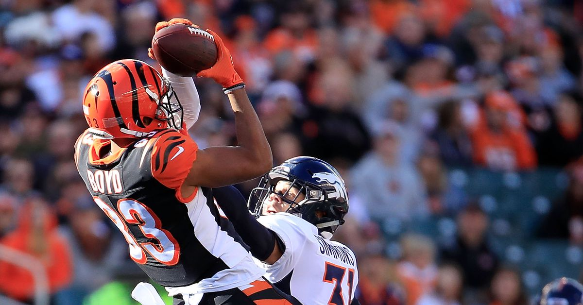Tyler Boyd rides career year to join Geno Atkins in Pro Football Focus' Top 101 players