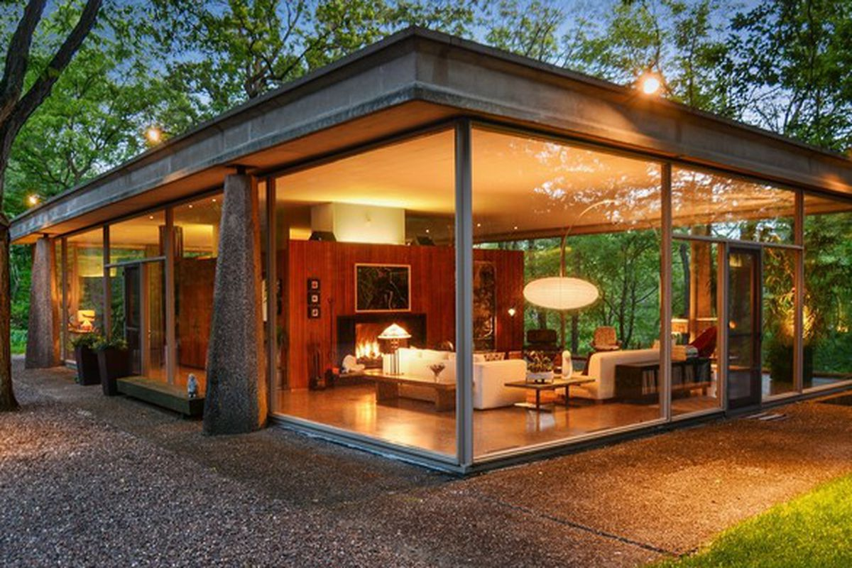 Own an Award Winning Mid-Century Glass House for Just $619K - Curbed ...