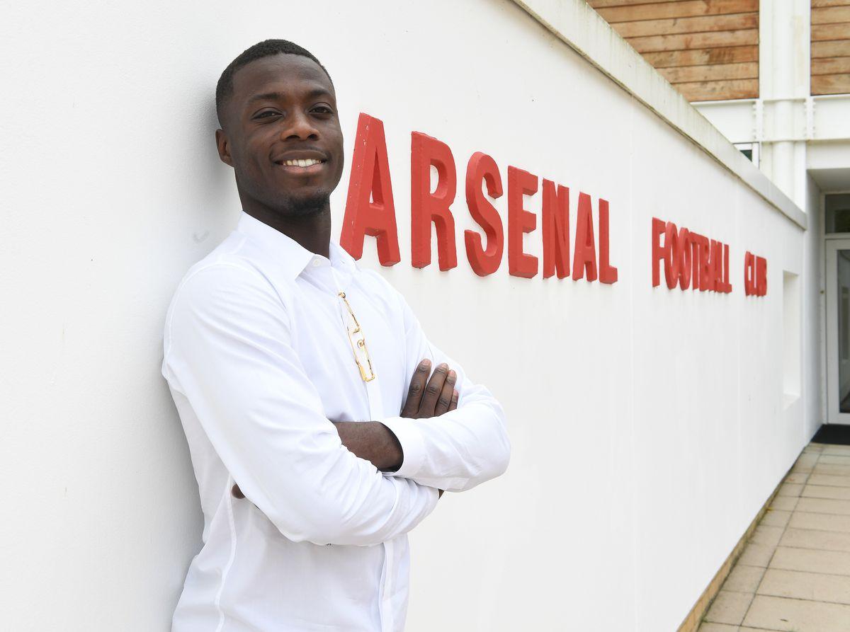 Arsenal Unveil New Signing Nicolas Pepe - Premier League