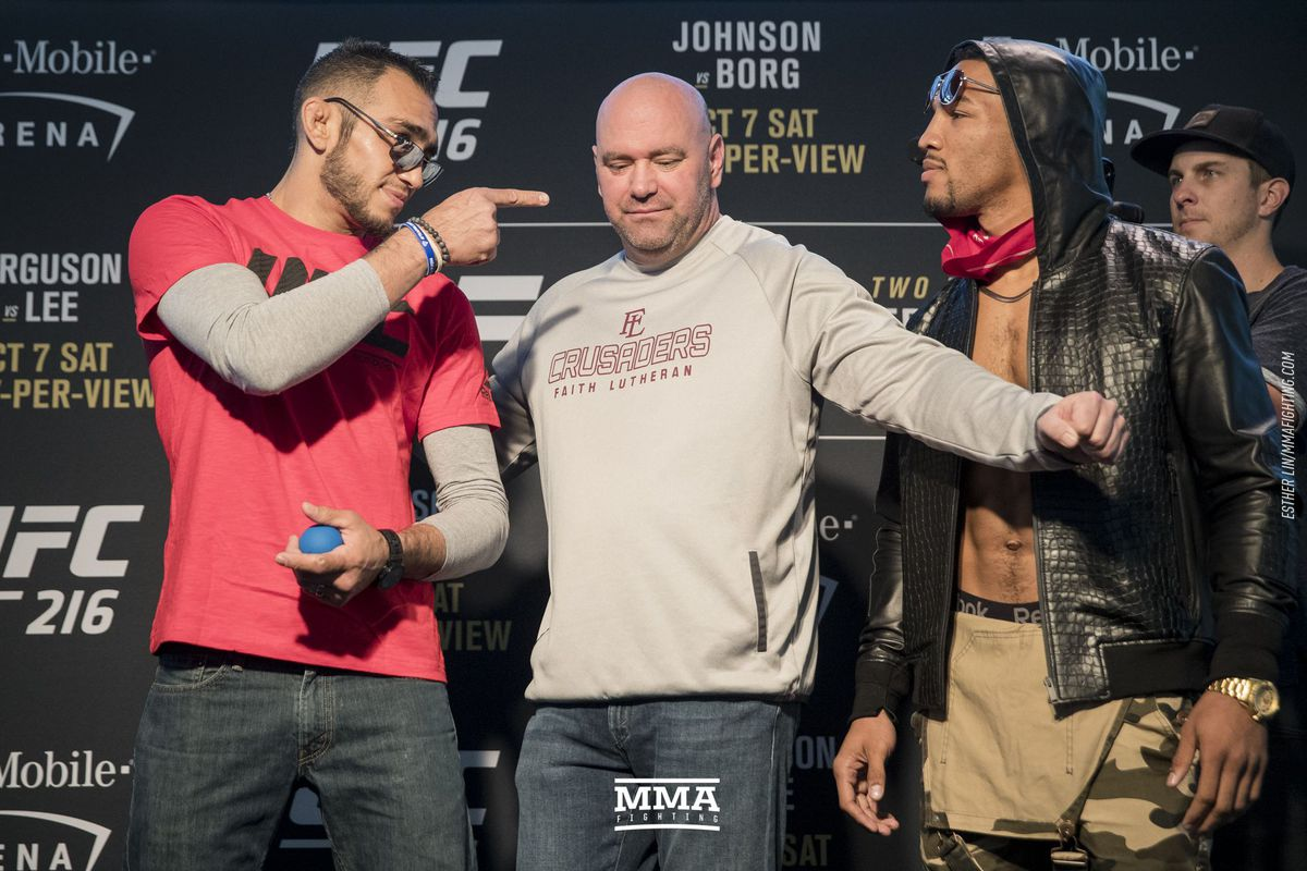 Image result for tony ferguson vs. kevin lee