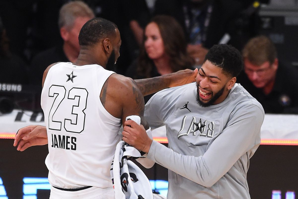 29012f561243 LeBron James should consider Anthony Davis and New Orleans Pelicans as  possible avenue of beating Kevin Durant and Golden State Warriors