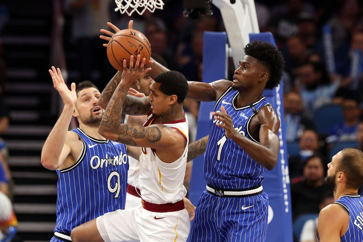 Image result for cleveland cavaliers magic 2019