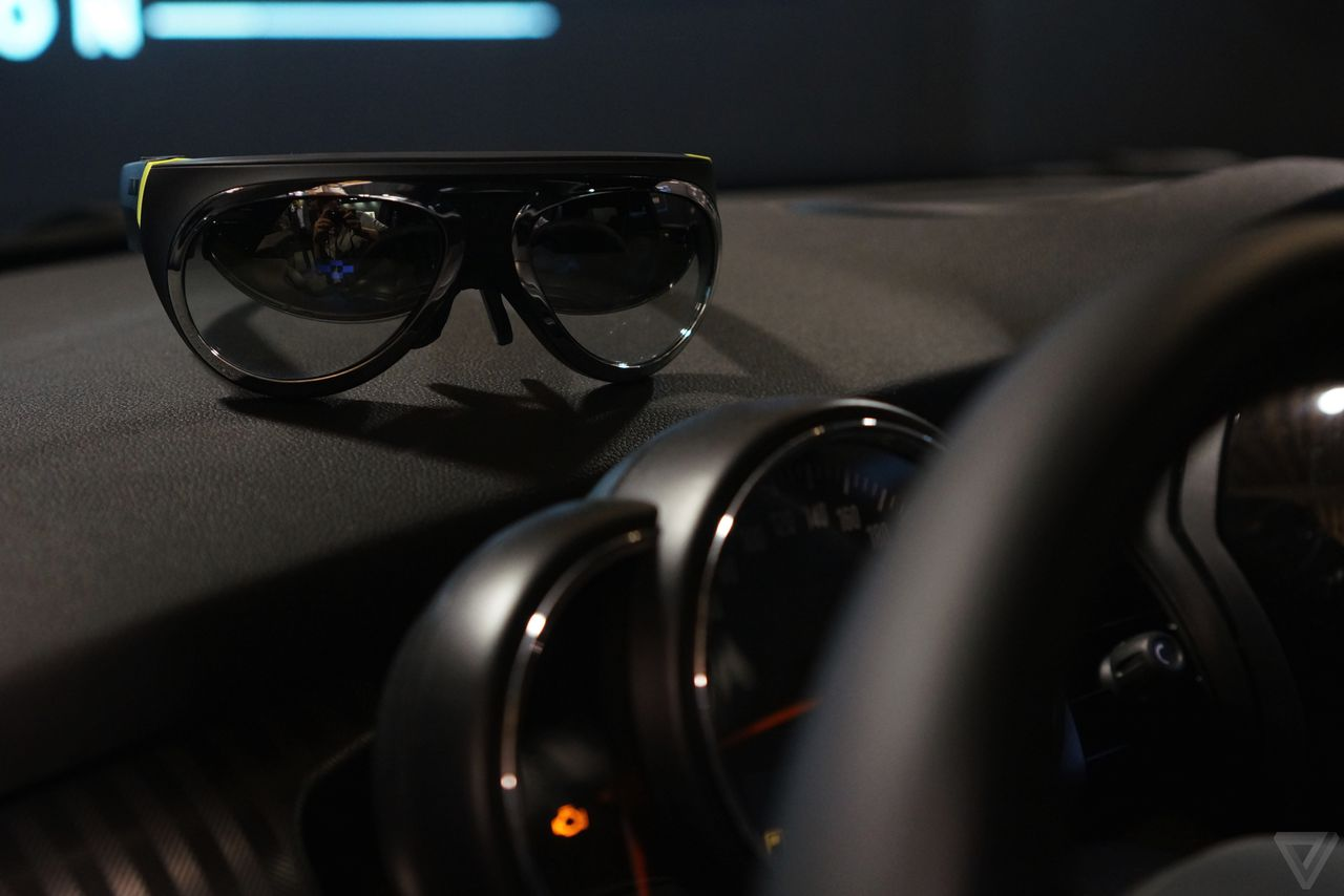 928f758aba51 Like Google Glass for cars  I tried Mini s Augmented Vision concept ...