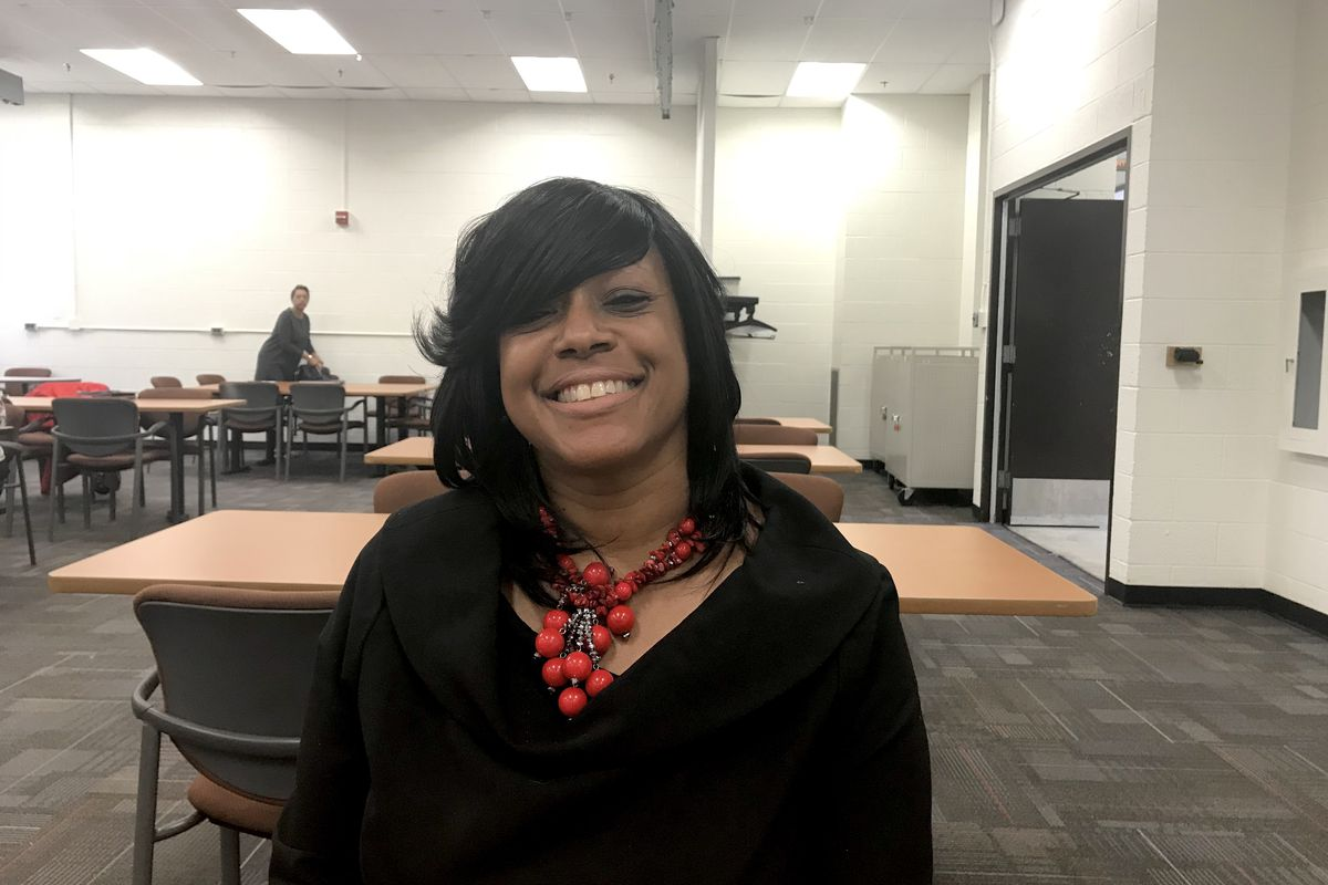 Karen McEwen, principal at Cooke STEM Academy in Detroit, understands why some children misbehave. She was one of them.