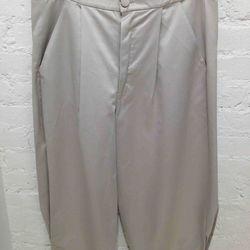 $100 Silk Cropped Pant