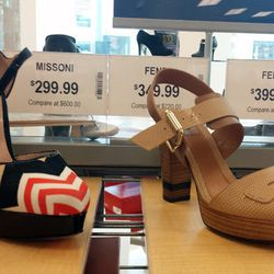 Missoni heels for $299.99 (orig. $600), more Fendis for $349.99 to $399.99 (orig. $720 and $895)