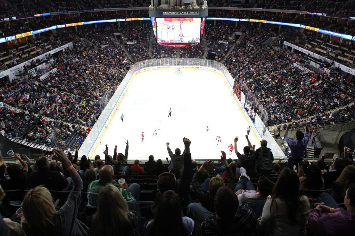 North Carolina hockey fans are more engaged than ever before, now that two teams in the same organization call the state home. (Photo courtesy Charlotte Checkers)