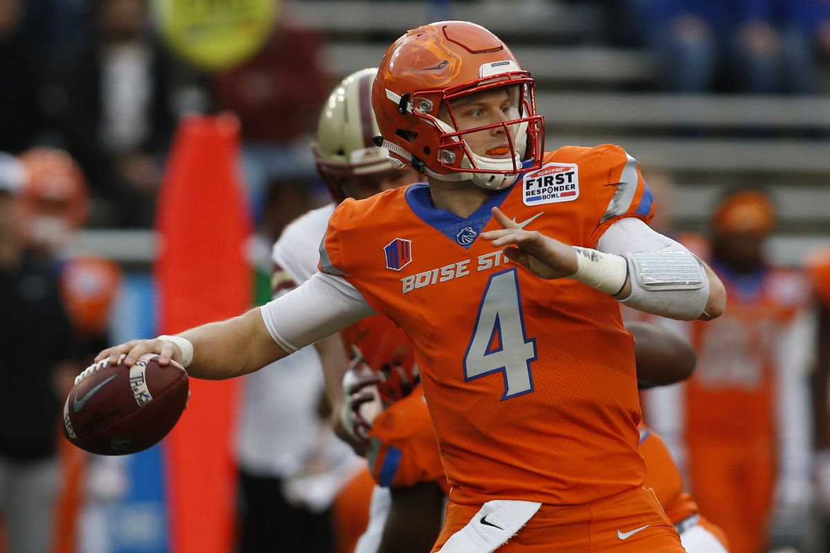 official photos d0865 3b0a4 NFL draft: Breaking down Brett Rypien's fit with the ...
